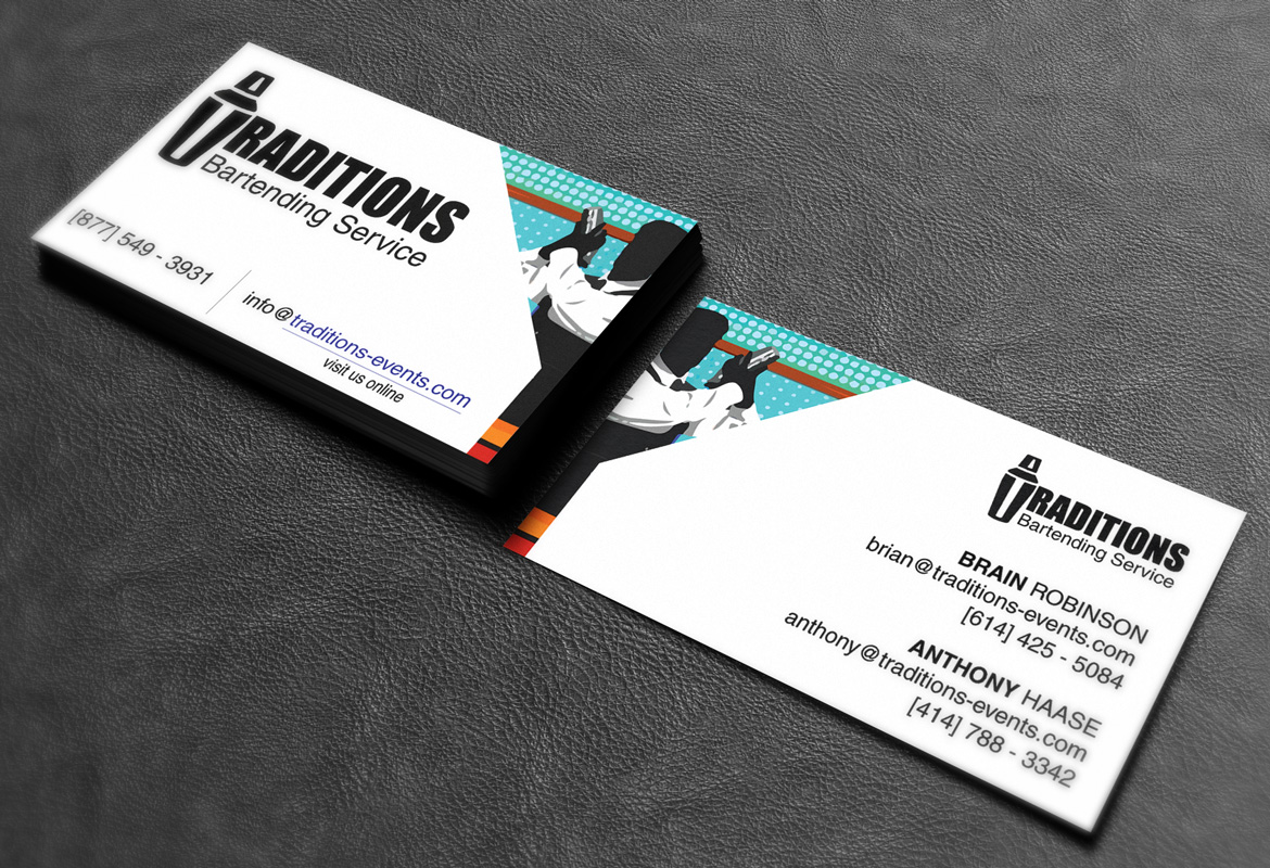 Business card Mock up Vol05